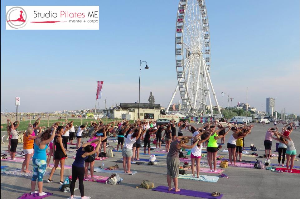 Pilates sul Molo a Rimini