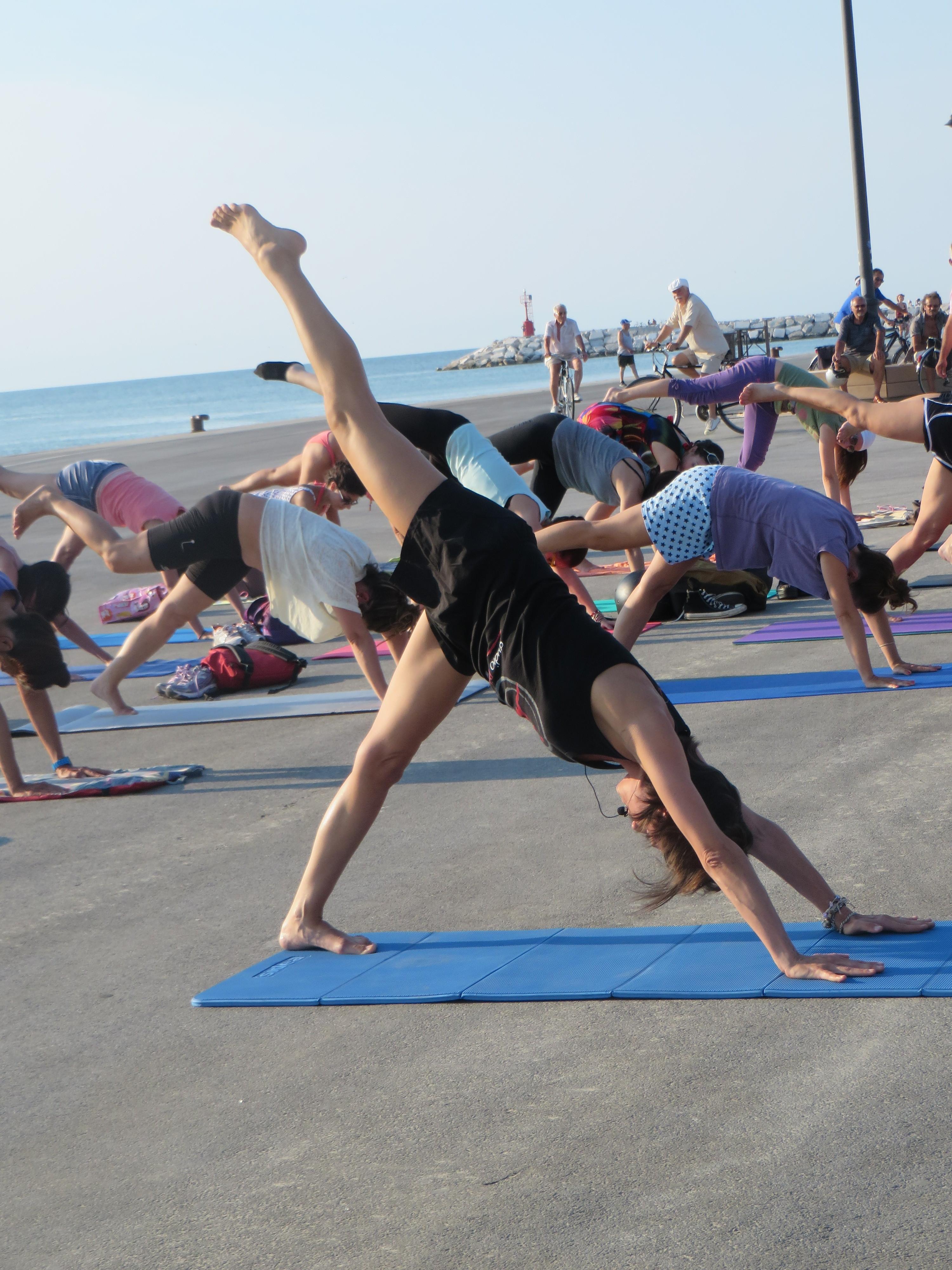 Pilates sul Molo – Rimini 2015